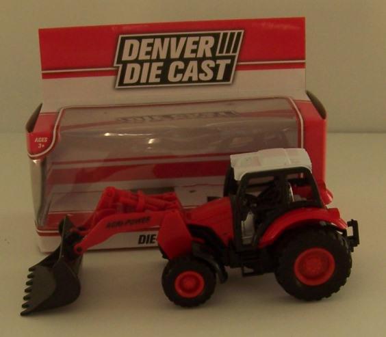 """Menards """"Denver Diecast"""" Collection Tractor Loader."""