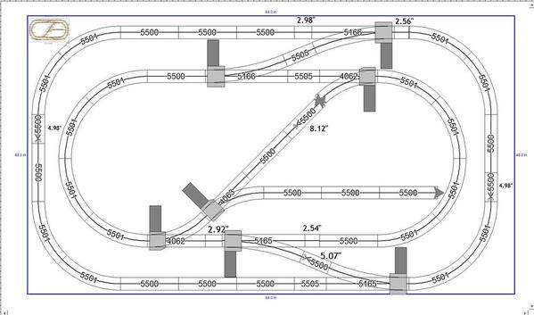 here is a tenative track plan for fold away layout