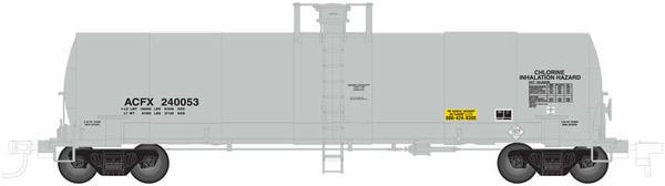 17K Tank car HO ACFX CL2 ARIL RPNT