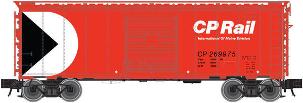 O 40' TM Boxcar Red CP Circle-Triangle