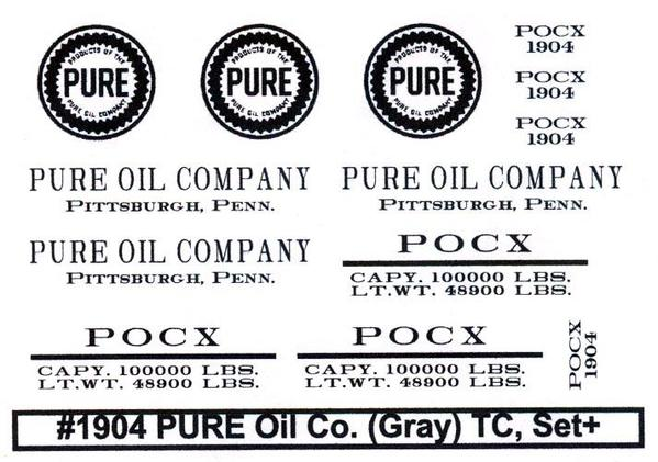#1904 PURE Oil Co. Set+