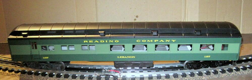 reading passenger cars o gauge railroading on line forum. Black Bedroom Furniture Sets. Home Design Ideas