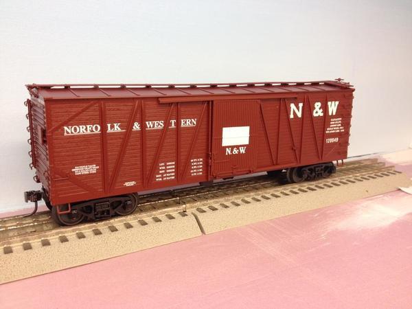 MTH Norfolk Western Box