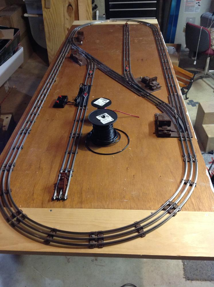 O27 hollow core door layout jan 2016 o gauge railroading for What does hollow to floor mean