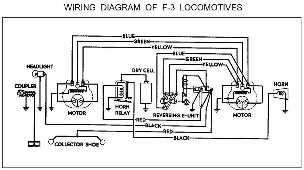 2343 horn wiring  o gauge railroading on line forum