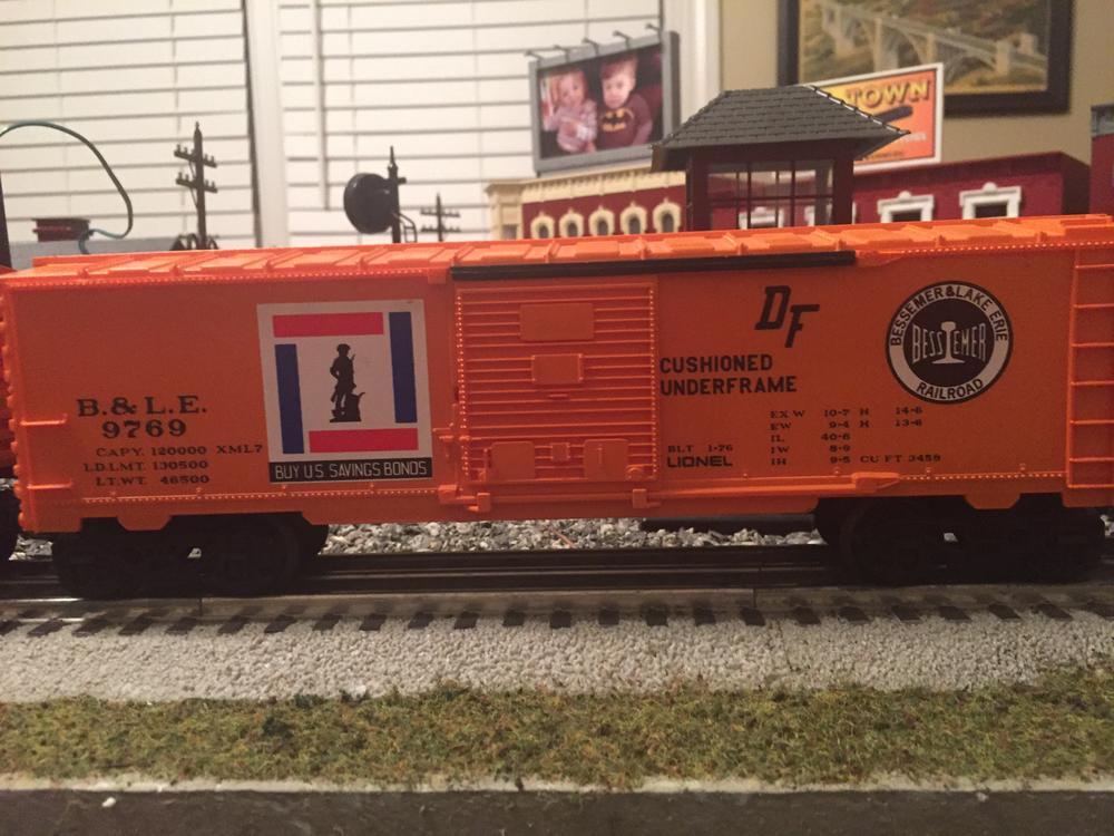 B Amp Le Freight Set Now Available For Seperate Sale O Gauge