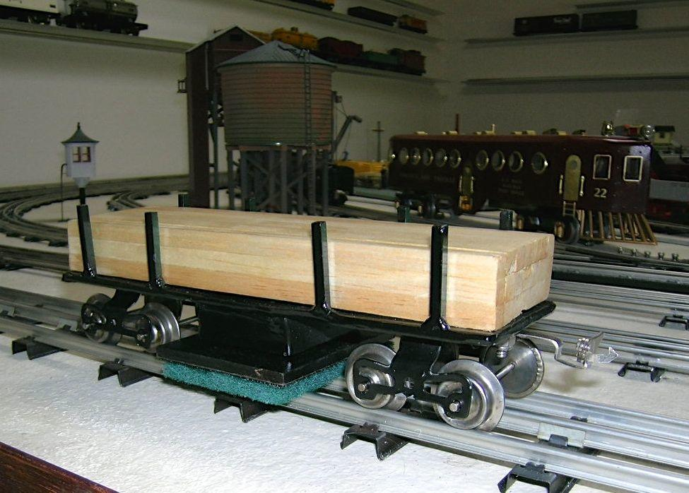 Homemade track cleaning car | O Gauge Railroading On Line ...