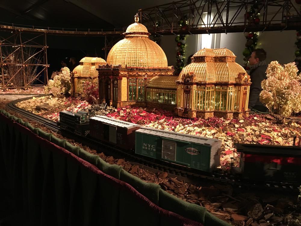 Train Show At The Ny Botanical Garden O Gauge Railroading On Line Forum
