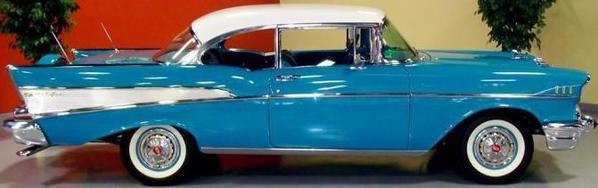 1957 CHEVY BEL AIR PROTO BLUE 3