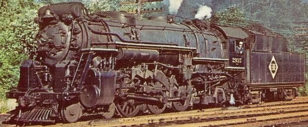 Image result for erie railroad steam locomotives