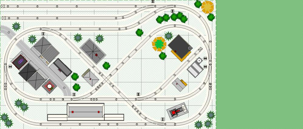 5x9 Ping Pong rrt Layout Design From FasTrack Book O