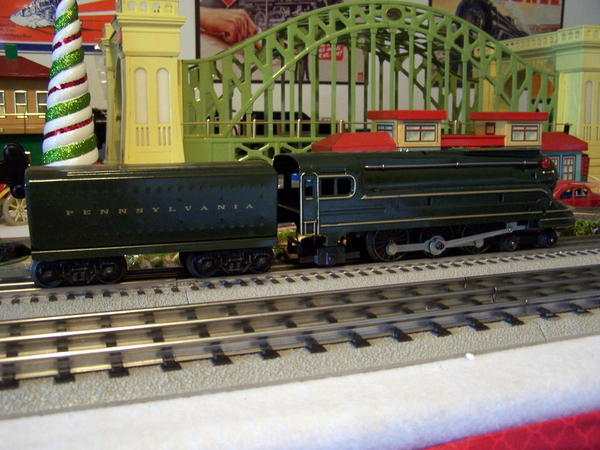 Lionel 1688 with Marx Motor 1