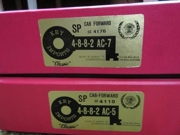 SP AC-7 4-8-8-2 cab forward key 19