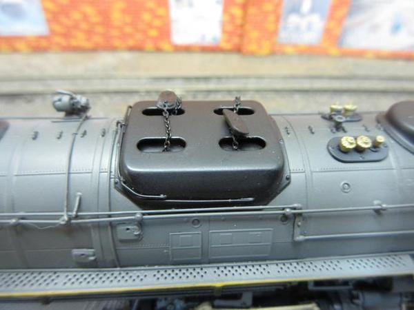 UP 4-6-6-4 grey SD key 11