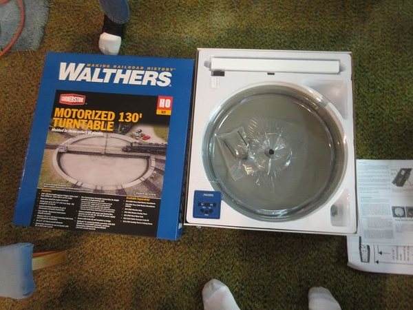 turntable walthers 130 foot 55