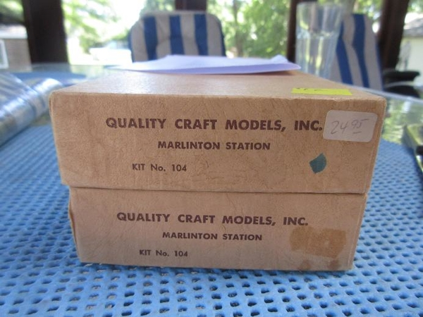 quality craft models marlinton station #104 01