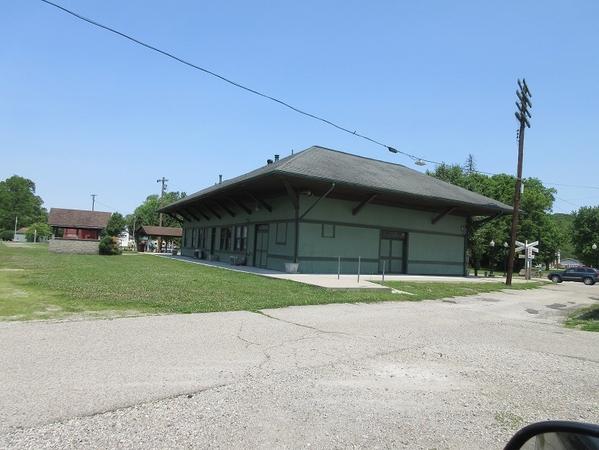 railroad station Morrow, Ohio, 2019 01