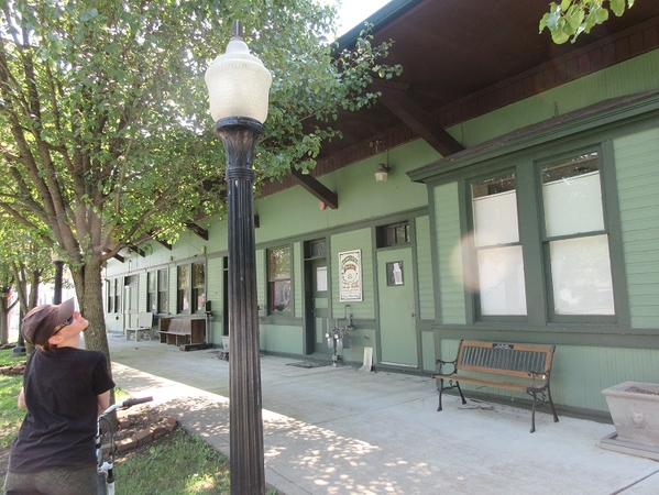 railroad station Morrow, Ohio, 2019 02