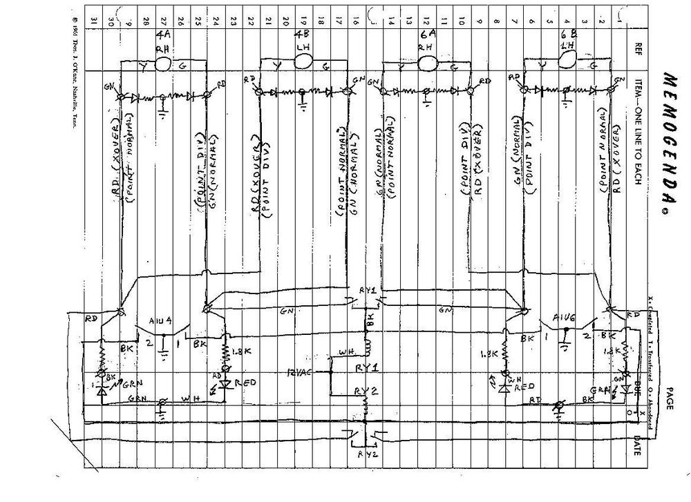 Wiring Of Ross Switches Using Dcs