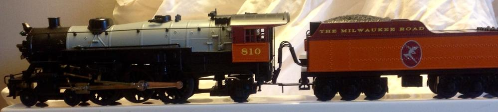 K3343-0810S K-Line light Pacific manual and info | O Gauge