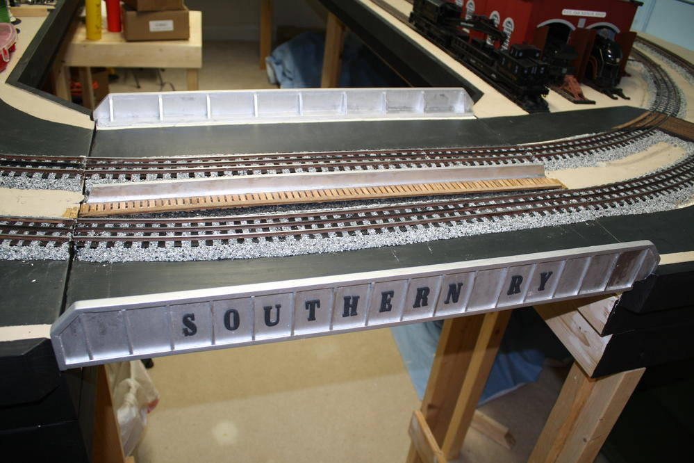 Layout Entry Point Hinged Removable Sections O Gauge