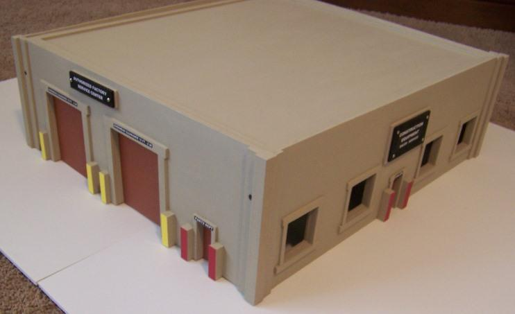 Accessories O Gauge Buildings : Four channel wireless controller for operation of model