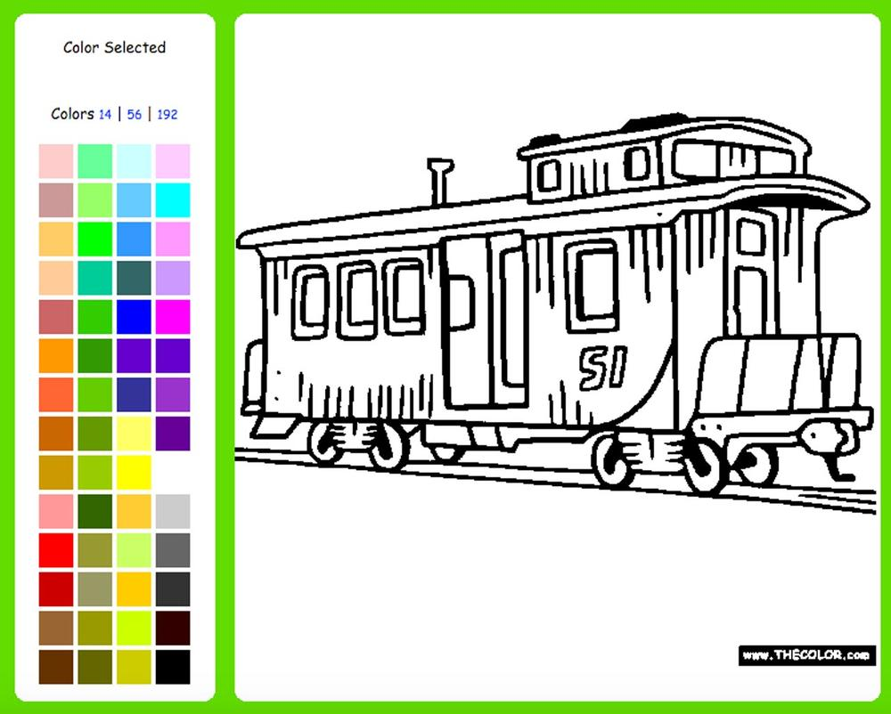 lionel coloring pages - photo#32
