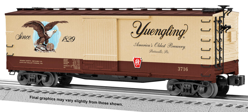 Image result for yuengling box car