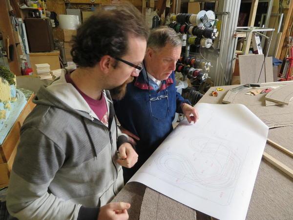 Fletcher & John go over Basic Layout track plan