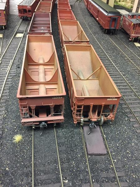 comparing ramps after ballasting