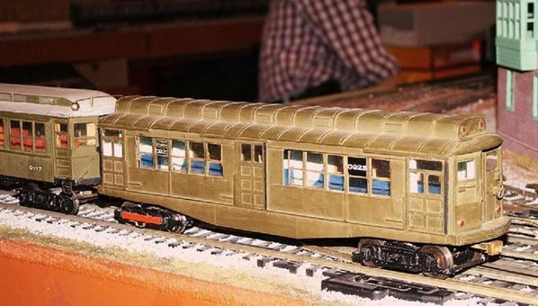 O-Scale Boston Elevated Car 0923