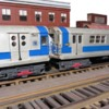 O-Scale IRT R-15  and R-17 scratch built subway cars: O-Scale IRT R-15  and R-17 scratch built subway cars
