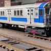 Scratch Built O-Scale IRT R-15 subway car: Scratch Built O-Scale IRT R-15 subway car