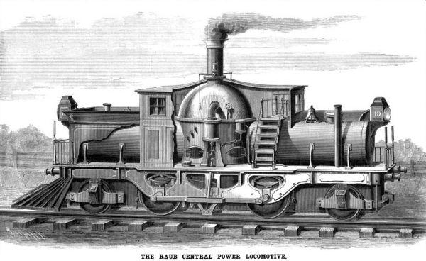 Unusual Locomotives Experimental Designs And Technical