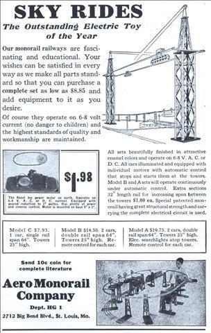 aero monorail sky rides-
