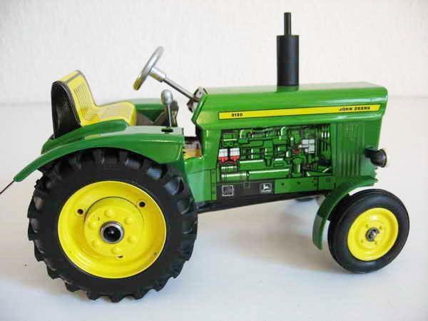 Kovap John Deere tractor