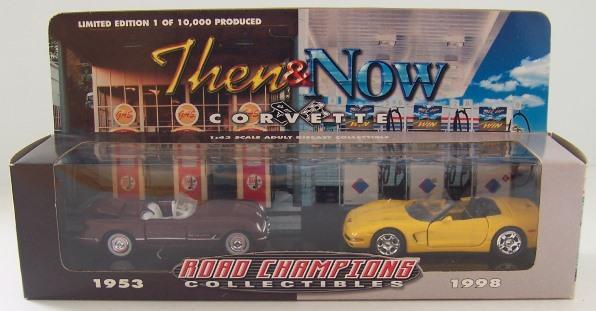 Road Champs 9200 1 43 Scale Diecast Chevrolet Corvette