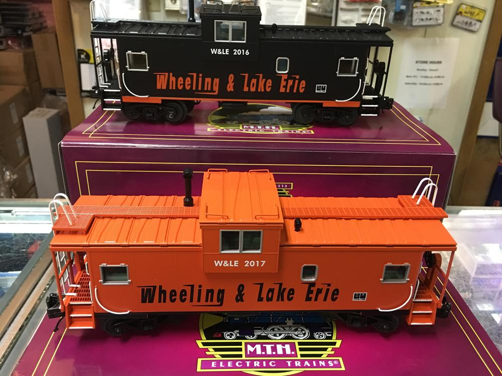 wheeling and lake erie mth premier caboose to match the modern diesels only at www patstrains. Black Bedroom Furniture Sets. Home Design Ideas