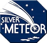 silver meteor logo