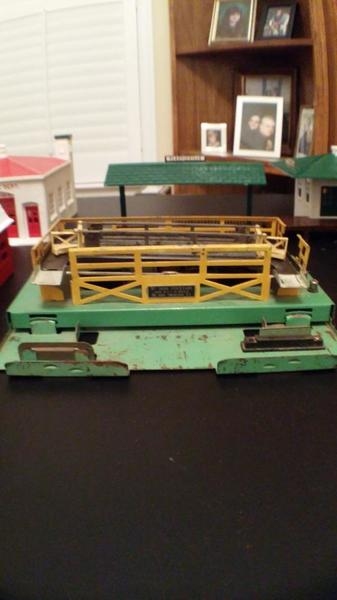 Lionel Cattle Car corral