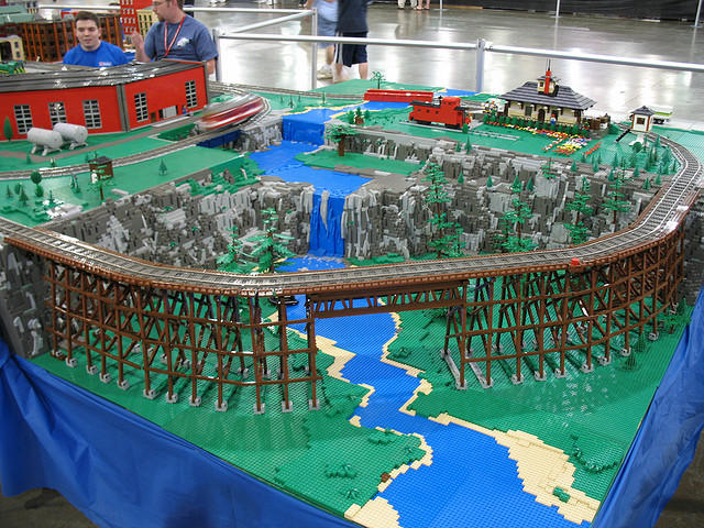 Lego scenery? | O Gauge Railroading On Line Forum