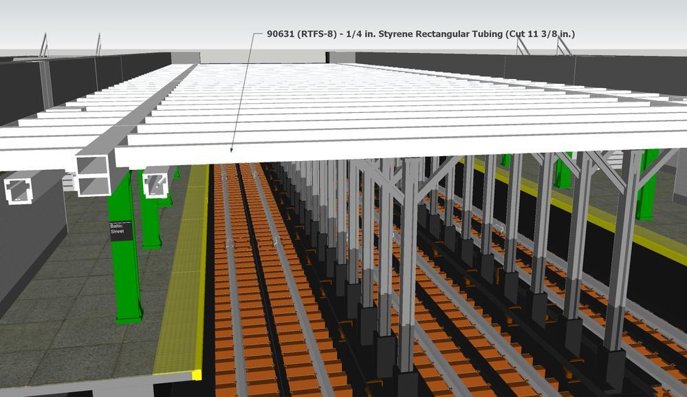 Subway Layout Section Design Using Sketchup O Gauge