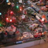 2006 Christmas Layout on floor of family room