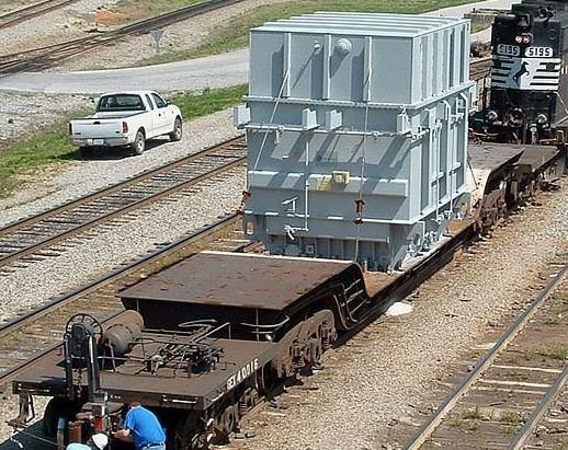 O Scale Model of an 8-Axle heavy duty depressed center