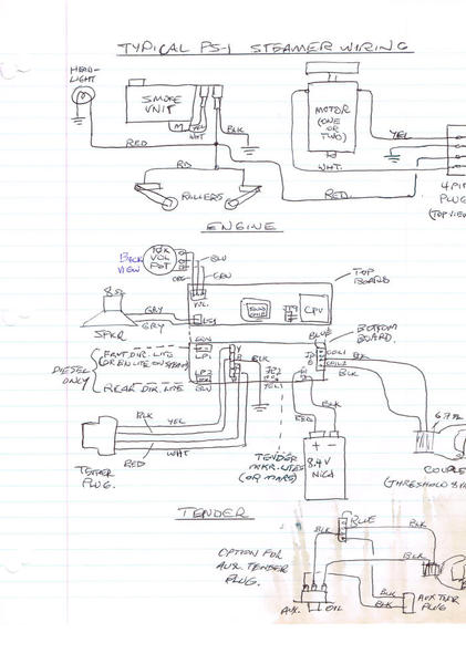 ps  1 electronics wiring diagram