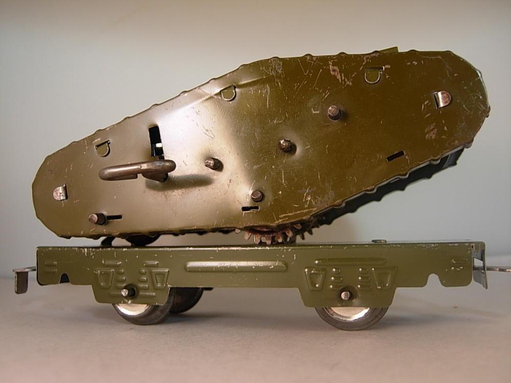 39 41 Marx Army Supply Train Cars O Gauge Railroading