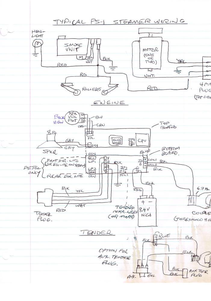 lionel post war dual engine wiring schematics   45 wiring