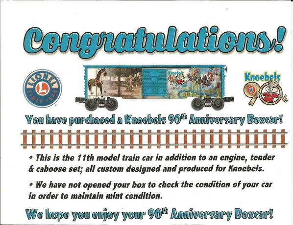Knoebels90thAnnivBoxcar
