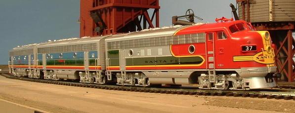 CP AT&SF F7A-B-B 37L 37A 37Br