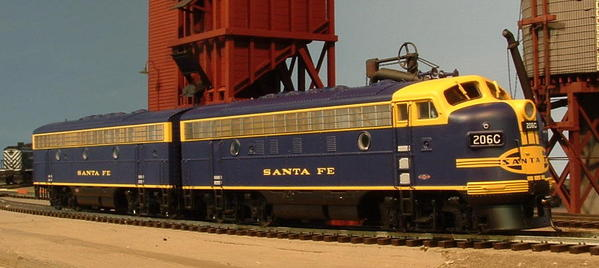CP AT&SF F7A-B 206C 206Br